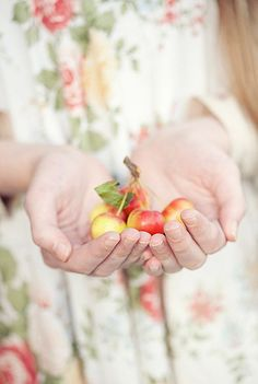 EAT HEALTHY Cherries