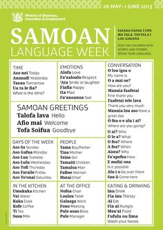 Samoan Language Week 2013
