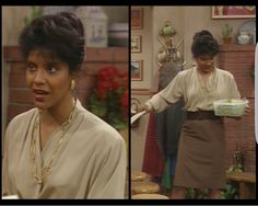 Phylicia Rashad~ Claire Huxtable, Cosby Show Phylicia Rashad, Chef Jackets, Sari, Actresses, Classic, Claire, Monsters, Women, Style