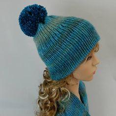 2c1870599fb4a Winter beanie hat-scarf set women girl Reflective pom pom beanie Knit  beanie hat women Knit hat-scarf Winter beanie girl stretchy XS-M