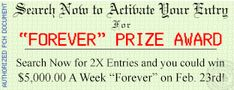 openXAdd To package  pin/7140317158119113 --add to package of certficate of title on forthcoming winning  prize number pch gwy no. 8800 $5,000.00 a week forev er winning number is with generator pending please activate my winning numbers I cynthia dehler want sole ownership and full eligibilty for FOREVER pch gwy 8800