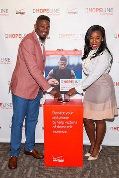 Donate Old Phones to Help Domestic Violence Victims via Verizon HopeLine Program - @Uzo-Adub