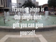 """Yes. Though I'd add """"traveling alone with a dog"""" to this, though I know that's not really alone."""
