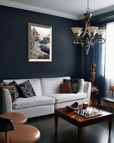 Brown and Blue Living Room Pictures. 20 Brown and Blue Living Room Pictures. Brown and Blue Living Room Color Ideas Brown And Blue Living Room, Black And White Living Room, Beige Living Rooms, Living Room Color Schemes, Living Room Paint, Living Room Sofa, Blue Living Room Walls, Dark Walls Living Room, Good Living Room Colors