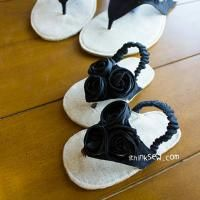 Sewing Projects For Baby Allyson Baby Flip Flops PDF Sewing Pattern ( Hat Patterns To Sew, Sewing Patterns Free, Pattern Sewing, Love Sewing, Baby Sewing, Baby Sandals, Baby Shoes, Baby Flip Flops, Easy Baby Blanket