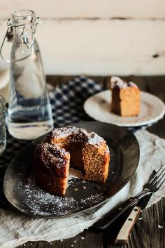 Persimmon Cake by Pastry Affair