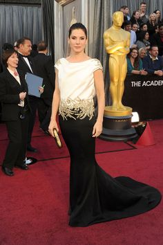 Oscars 2012 Red Carpet Arrivals - Pictures from 2012 Academy Awards Red Carpet - Harper's BAZAAR