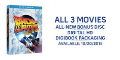 Back to the Future 30th Anniversary Trilogy (Blu-ray) Arrives 10 ...