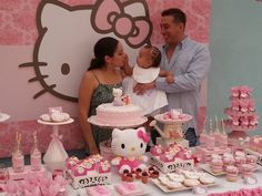 Hello kitty shabby chic party