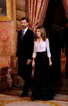 Spain, Princess Letizia, Prince Felipe