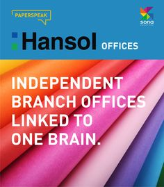 Hansol Paper is taking off as an advanced global paper maker through comprehensive systems that link overseas marketing offices with distribution and sale. #sonapapers #hansolpaper #finepapers #stationerypapers #creativepaper