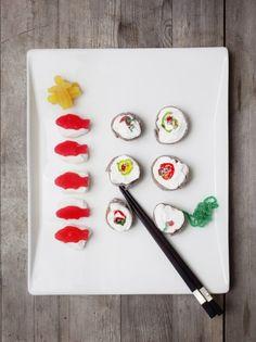 Candy sushi! Gotta love it!