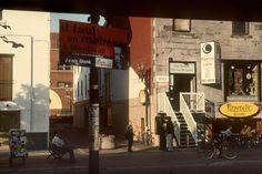 Harry Gruyaert - Montreal. 1998. St.Denis street.
