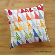 a pretty pile of pillows
