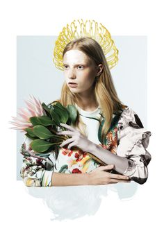 Love this shoot byJames Hartley featuring the Grand National collection by Cameo the Label