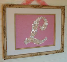 Making this for my niece's birthday. Pink/white background w/ apple green buttons