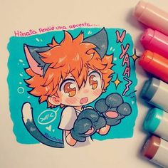 Hinata is a cat! Nya!