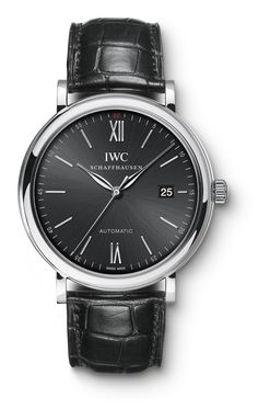 IWC Portofino 40 mm watch with 42-hour power reserve.