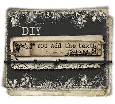 DIY  You Add the Text Instant Download 3 piece Etsy by BrandSense