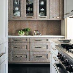 Limed Oak Kitchen Cabinets Design Ideas, Pictures, Remodel