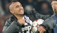 """Juventus, Vidal tripletta decisiva. """"E' un regalo per mio figlio. Il rinnovo? Io firmerei anche domani"""""""