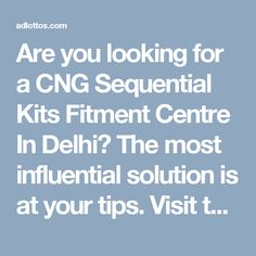 Are you looking for a CNG Sequential Kits Fitment Centre In Delhi? The most influential solution is at your tips. Visit the website of A.V Automobiles Pvt. Ltd to get the best deals on the affordable prices with a trust seal of government certification. Post your enquiry now to enjoy such services for your vehicles.