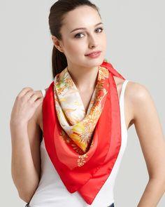 comment porter et nouer un foulard