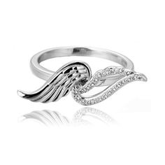 Showcase your inner divinity with this beautiful Angel's Wink #ring that features exquisite feather details on sterling silver to gleam perfectly on your delicate fingers. If you crave for #beautifuljewelry, fulfill your accessory-loving duty and go for this remarkable piece. You will never lose to pick up any compliment! https://www.lindastars.com/collections/lindas-specials/products/angels-wink-ring