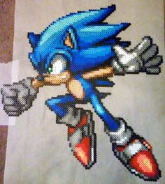 Sonic the Hedgehog by phantasm818.deviantart.com on @DeviantArt