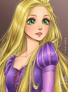 Disney Princess Manga Rapunzel