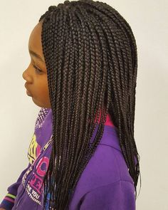 Micro Braids Hairstyle 2012