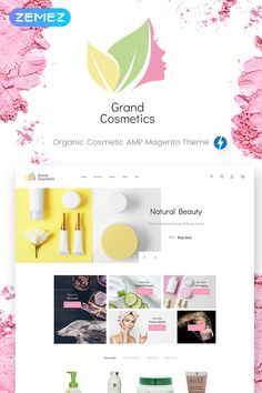 GrandCosmetics - #Cosmetics #Store #Magento #Theme. #webstore #website #webtemplate