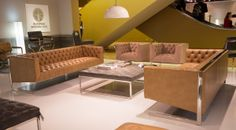 Viper Sofa and Viper Armchairs | Pilot Coffee Table