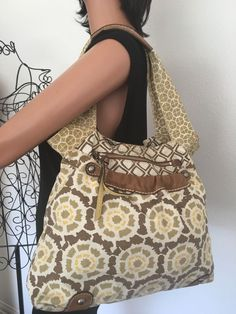 FossilOriginal Brand Bag Purse Designer Fashion Canvas Leather Boho Hip   | eBay