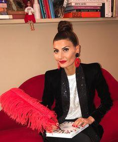 "22.3k Likes, 308 Comments - Giovanna Battaglia Engelbert (@bat_gio) on Instagram: ""Ready for tonight Milano book signing at @armanilibri @giorgioarmani #gio_graphy #GaXGio make up…"""
