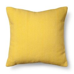 Room Essentials™ Stitch Solid Pillow - Yellow