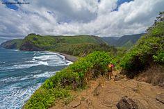 Pololū Valley - Big Island Hikes 3-5 (i think mile option for zipline day) 20min away