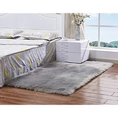 ALAZA Cartoon White Arrow Black Area Rug Rugs for Living Room Bedroom 53 x 4