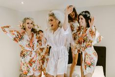 Searching for the perfect robes for your wedding? Browse Pomp & Valor's cute bridesmaid robes, bridal robes, & bridal party robes in lace & floral styles. Luxury Bridesmaid Gifts, Bridesmaid Robes, Bridesmaids, Personalized Bridal Shower Gifts, Bridal Party Robes, Small Intimate Wedding, Wedding Looks, Silk, Etsy