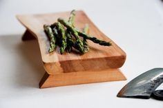 Gorgeous handmade red maple (from salvaged wood) wooden cutting board serving tray by grayworksdesign on etsy - beautiful!