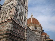 https://flic.kr/p/85YyfK | Florence: The Basilica di Santa Maria del Fiore (UNESCO World Heritage Site) | The Basilica di Santa Maria del Fiore (English: Basilica of Saint Mary of the Flower) is the main church of Florence, Italy. The Duomo, as it is ordinarily called, was begun in 1296 in the Gothic style to the design of Arnolfo di Cambio and completed structurally in 1436 with the dome engineered by Filippo Brunelleschi. The exterior of the basilica is faced with polychrome marble panels…