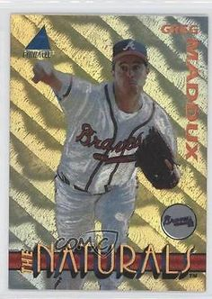 1994-Pinnacle-The-Naturals-Box-Set-Base-15-Greg-Maddux-Atlanta-Braves-Card-1t9