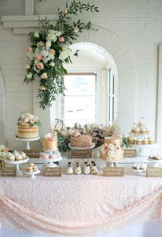 dessert table. Candy buffet decorations. Wedding Planning tips. How decorate a candy buffet.