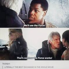 My favorite part was Han's response to Chewy gripping about being cold.