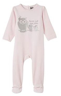 Veloure Sleepsuit from Tape A L'oeil