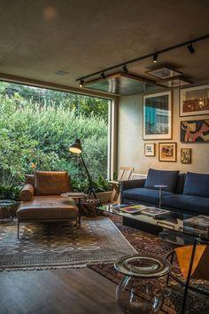 Interior Design Inspiration, Home Interior Design, Interior Architecture, Interior Decorating, Decoration Inspiration, Style Deco, Living Spaces, Living Room, Apartment Living