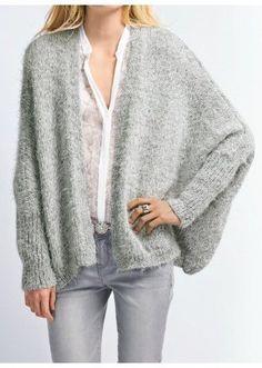 661 - Draped jacket - Créations 12/13 | Tricothèque | Buy Online