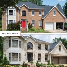 Home Exterior Makeover, Exterior Remodel, Style At Home, Exterior Design, Interior And Exterior, Tudor Exterior Paint, Exterior House Paint Colors, Exterior Paint Color Combinations, Stucco Colors