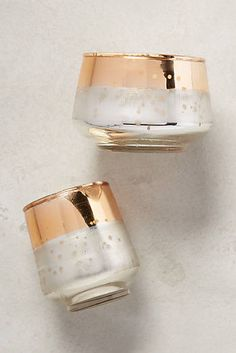 卡普里藍冬季奇蹟蠟燭