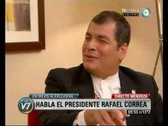 Visión Siete: Cumbre del Mercosur: Entrevista exclusiva con Rafael Correa